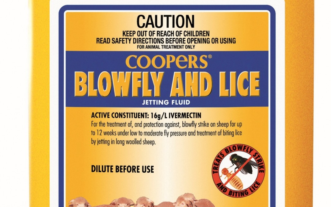 Coopers Blowfly & Lice – 5lts