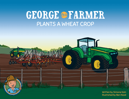 "George the Farmer ""Plants a Wheat Crop"" Book"