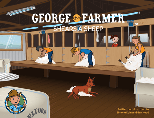 "George the Farmer ""Shears a Sheep"" Book"