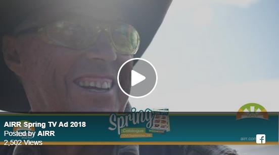 AIRR Spring TV Ad 2018