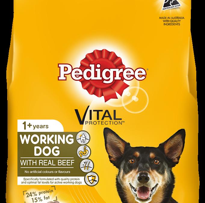 Pedigree Working Dog Food 20kg