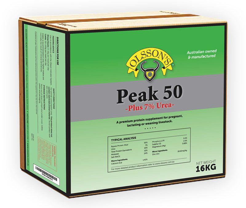 Olsson's Peak 50 + 7% Urea Block 16kg