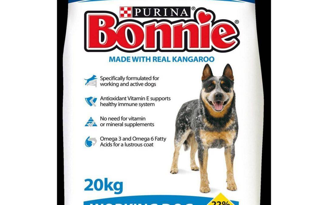 Bonnie Working Dog Food 20kg