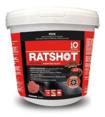 IO Ratshot One Shot Pellets Red 10kg