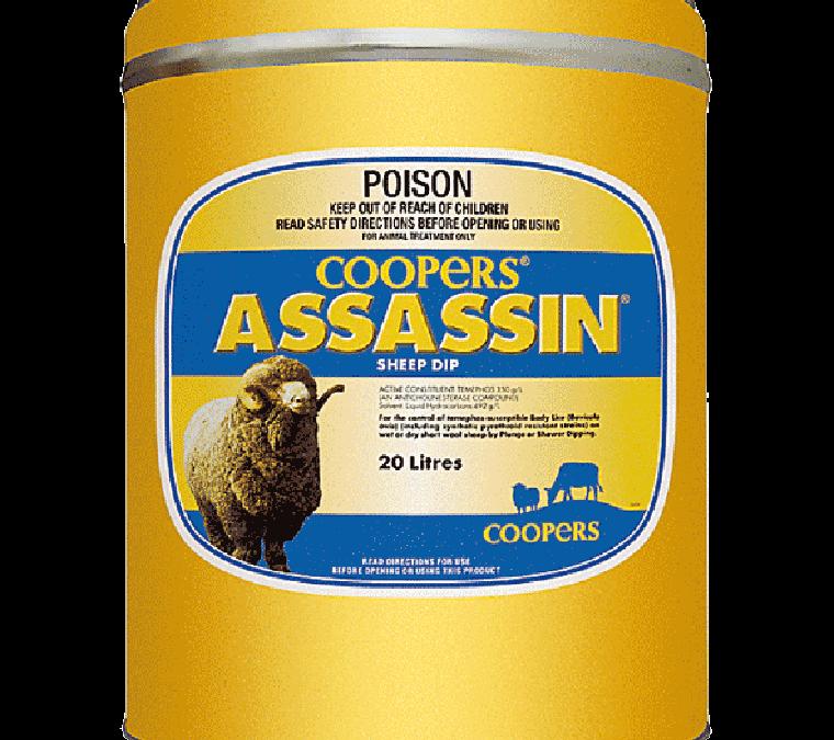 Assassin Sheep Dip 20Ltr – SPECIAL $990.00